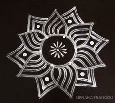 Rangoli Designs Simple Diwali, Simple Rangoli Kolam, Indian Rangoli Designs, Free Hand Rangoli Design, Rangoli Designs Flower, Rangoli Designs Latest, Rangoli Border Designs, Small Rangoli Design, Rangoli Patterns
