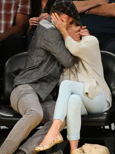 Justin Timberlake, Camden, Famous Celebrities, Celebs, Jessica Biel And Justin, Anthony Johnson, Kiss Cam, Lakers Game, Kisses