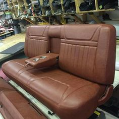 New custom truck interior bench seat Ideas Automotive Upholstery, Car Upholstery, Automotive Furniture, 72 Chevy Truck, Classic Chevy Trucks, Ford Trucks, Chevy 3100, Custom Car Interior, Truck Interior