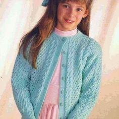 Free Childrens Knitting Patterns, Baby Cardigan Knitting Pattern Free, Baby Boy Knitting Patterns, Knitting For Kids, Knit Patterns, Free Knitting, Free Crochet, Toddler Cardigan, Tommy Hilfiger