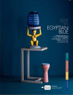 Africa Rising: the Dulux colour moodboard Blue Colour Palette, Colour Schemes, Dulux Blue, Baroque, African Colors, Dark Furniture, African Design, Elle Decor, Colorful Interiors