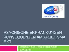 Mag. Helene Sengstbratl vortrag AMS Burgenland by David Malam via slideshare