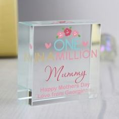 Personalised One in a Million Medium Crystal Token