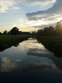 River Rye Kildare, Ireland.