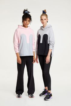 Photographer: Paavo Lehtonen MUAH: Sonja Elnahhal Models: Ella Viherä & Laura Anttonen Different Styles, Comfy, Hoodies, Grey, Classic, Pink, Jackets, Black, Hoodie