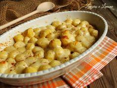 Gnocchi di patate al gratin - ricetta saporita