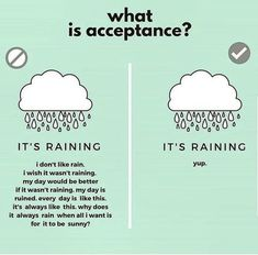 BWRT®️ : Shift your perspective - sometimes when a situation cannot be changed acceptance is the only way forward for psychological & emotional wellbe Mental And Emotional Health, Mental Health Awareness, Emotional Healing, Emotional Resilience, Self Care Activities, Therapy Activities, Relation D Aide, Radical Acceptance, Coping Skills