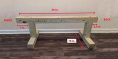 Регулируемая силовая скамья своим руками Adjustable Workout Bench, Entryway Tables, Gym, Fitness, Furniture, Home Decor, At Home Gym, Woodworking Furniture, Exercises