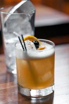 Because real men like whiskey (sours). Get the full video recipe from legendary mixologist Julie Reiner at pannacooking.com