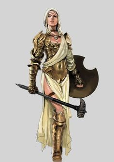 f Cleric Med Armor Shield War Hammer hilvl City urban border traveler Chandra Pandhita