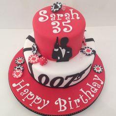 James Bond theme cake