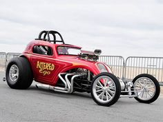 This 1937 Fiat Topolino street altered hot rod runs custom tube chassis with small-block GM power and flip-up body Nhra Drag Racing, Auto Racing, Custom Hot Wheels, Vintage Race Car, Drag Cars, Car Humor, Hot Cars, Street Rods, Classic Cars