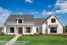 Modern Farmhouse Plan with Bonus Room - 51754HZ | Architectural Designs - House Plans