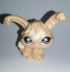 Littlest Pet Shop Tan Angora Bunny Rabbit Purple Flower Eyes #631 Preowned LPS in Toys & Hobbies, Preschool Toys & Pretend Play, Littlest Pet Shop | eBay