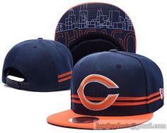 NFL Chicago Bears Snapbacks Caps Retro Flat Hat A Stripe
