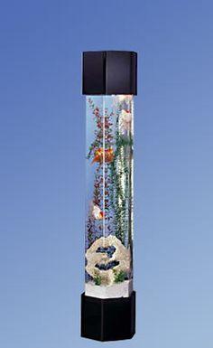 Acrylic Aqua Tower Aquariums, Sea Columns by Midwest Tropical