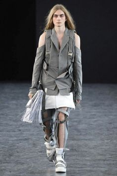 Hood by Air, Spring 15  military, fighter pilot, armor