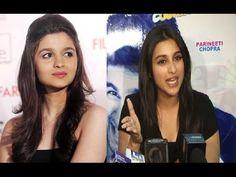 Parineeti Chopra's reaction on Alia Bhatt's RUDE COMMENT.