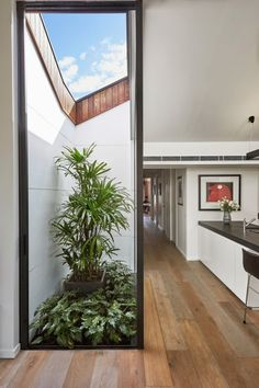 DAILYAROS Semi-Detached House Is Business in Front, Party in Back Source:freshome.com #interiors