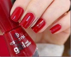 Essence The Gel Nailpolish 14 - do you speak love Swatch, Nail Polish, Candy, Nails, Sweet, Finger Nails, Ongles, Candles, Nail