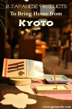 What to buy in Kyoto Japan ? This Kyoto shopping guide presents some of the most prominent Kyoto-made items well worth checking out as a memorable gift from the Land of the Rising Sun. Go To Japan, Visit Japan, Japan Trip, Japan Travel Guide, Asia Travel, Tokyo Travel, Japanese Travel, Japanese Geisha, Japanese Paper