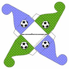 Fútbol: Cajas para Imprimir Gratis. | Ideas y material gratis para fiestas y celebraciones Oh My Fiesta!