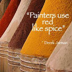 #Quote About #Color By Derek Jarman