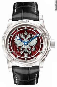 Louis Moinet  ad: AED102,682 Louis Moinet Russian Eagle Limited Edition Ref. No. LM-34; White gold; Automatic; Condition 0 (unworn); Year 2016; New; With box; With pap