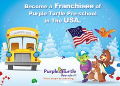 Become a Franchisee of Purple Turtle Preschool in the USA. Join the best preschool franchise Network Today! For details visit: www.purpleturtle.com/preschool/ You can email us at franchise@purpleturtle.com or  Call us at 0755-4270555, 0755-2555442 Fax: 0755-2555449 #PurpleTurtle #PreSchool #Franchise #Opportunity #TOI #Today #Preschool #Daycare #RetailOutlet #ActivityCentre #LearningCentre