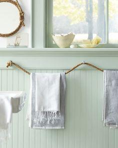 rope towel holder by roji