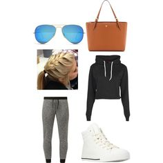 Untitled #17 by fabfive1999 on Polyvore featuring polyvore, fashion, style, Boohoo, Forever 21, Tory Burch and Ray-Ban