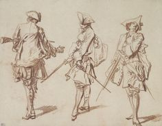 Watteau Common Soldiers