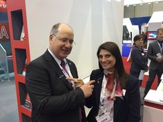 Team members looking sharp with their pin! We encouraged all EBACE attendees to show their support of business aviation, and invited them to get their complimentary pin at our Universal® Exhibit. Team Member, Exhibit, Aviation, Encouragement, Business, Air Ride