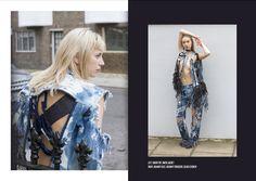AW16 | N. BALLOUT Look: Gwen www.nathalieballout.com Fashion Denim Double…