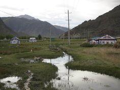 西藏  納木措回拉薩沿途