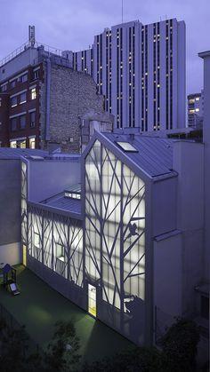 Crèche Jules Guesde by B+C Architectes