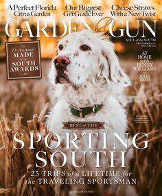 Garden and Gun Magazine | 12/2016 Cover