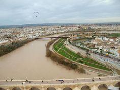Crecida del río Guadalquivir 15.01.2010