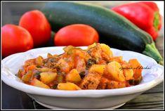 Ratatouille, Sweet Potato, Potato Salad, Slow Cooker, Chili, Potatoes, Vegetables, Ethnic Recipes, Food