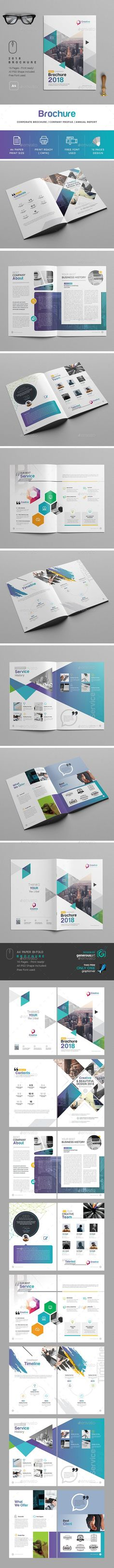 2018 Brochure - Brochures Print Templates