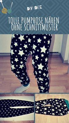 DIY Pumphose nähen – Schnittmuster und Nähanleitung für Erwachsene Sewing cool bloomers for adults and kids: Simply create sewing patterns for bloomers yourself with sewing instructions. How to do it, I show here ⇒ … Baby Clothes Shops, Diy Clothes, Clothes Storage, Image Mode, Costura Diy, Diy Couture, Pumps, Kids Health, Kind Mode