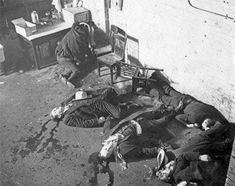 St. Valentine's Day Massacre is listed (or ranked) 1 on the list The 15 Most Infamous & Haunting Crime Scene Photographs Ever Taken
