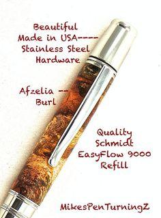 Custom Wooden Pen  Hand Turned Beautiful by MikesPenTurningZ, $99.00