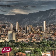 One of our locations: #Medellin. An amazing city that inspires us with its kind people, perfect weather and incredible sense of innovation.   www.apacreative.com