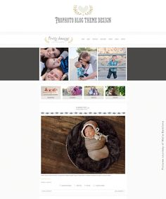Ready to Install Blog Design for ProPhoto - Pretty Amazing. $70.00, via Etsy.