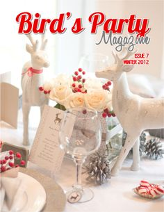 Bird's Party Magazine Winter Issue is Out! · Edible Crafts | CraftGossip.com