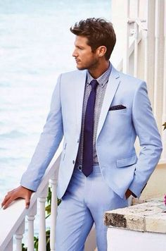 Summer look. #Blue