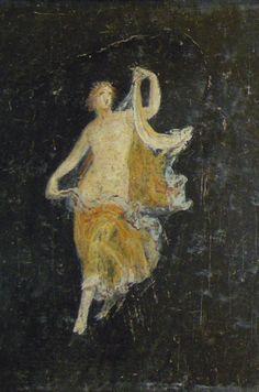 Las palabras mágicas: Pompeii painting , Naples Archaelogical Museum