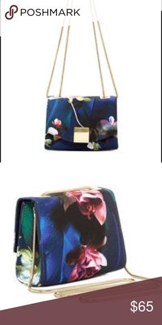 Ted Baker Mini Fabea Antonya Floral Handbag! No flaws, great condition, use couple of times. Like new! Feel free to make me an offer. No trades! Ted Baker Bags Crossbody Bags