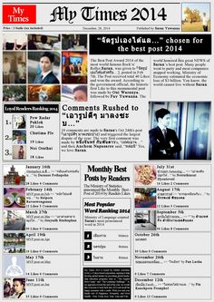 My Time 2014 World Famous, Profile, Good Things, User Profile